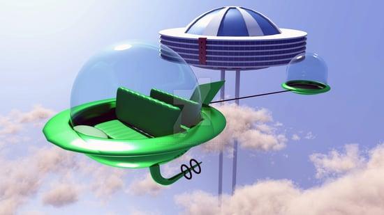 Jetsons Flying Car