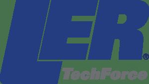 LER- blue & gray logo