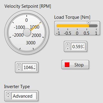 Velocity Setpoint RPM