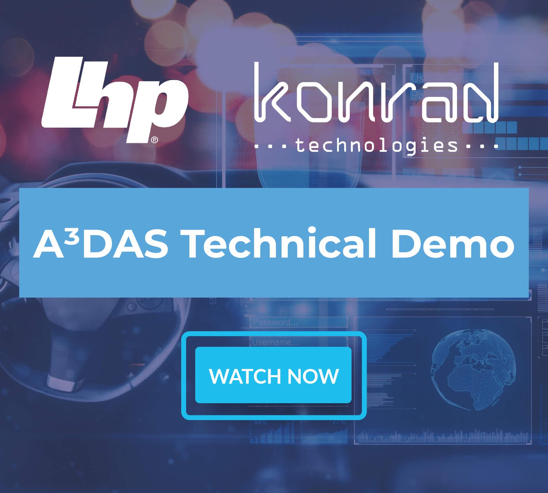 A³DAS Technical Demonstration