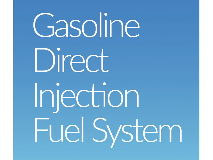 Gasoline Direct Injection Fuel System